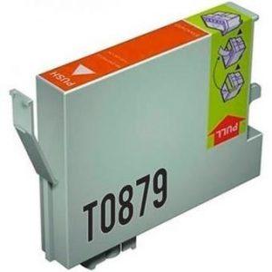 EPSON T0879 NARANJA REMANUFACTURADO COMPATIBLE