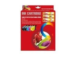 BROTHER LC1220/LC1240 MULTIPACK DE 5 CARTUCHOS DE TINTA GENERICOS