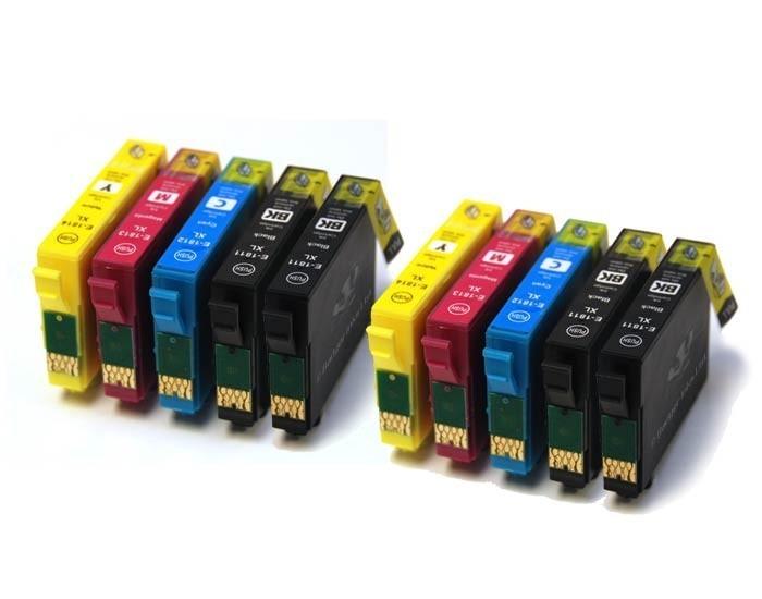 EPSON T1816 MULTIPACK DE 10 CARTUCHOS DE TINTA GENERICOS