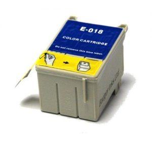 EPSON T018 TRICOLOR REMANUFACTURADO COMPATIBLE