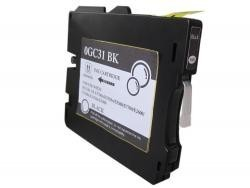RICOH GC31K NEGRO REMANUFACTURADO COMPATIBLE