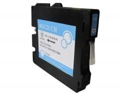 RICOH GC21C CYAN REMANUFACTURADO COMPATIBLE