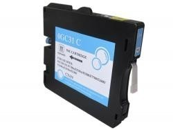 RICOH GC31C CYAN REMANUFACTURADO COMPATIBLE