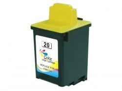LEXMARK 20 TRICOLOR REMANUFACTURADO COMPATIBLE