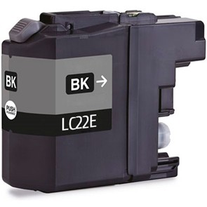 BROTHER LC22E NEGRO REMANUFACTURADO COMPATIBLE