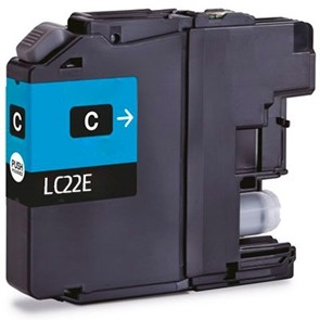 BROTHER LC22E CYAN REMANUFACTURADO COMPATIBLE