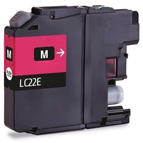 BROTHER LC22E MAGENTA REMANUFACTURADO COMPATIBLE