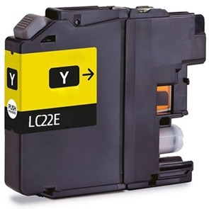 BROTHER LC22E AMARILLO REMANUFACTURADO COMPATIBLE