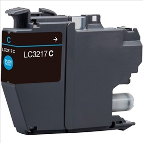 BROTHER LC3217 CYAN REMANUFACTURADO COMPATIBLE