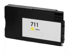 HP 711 AMARILLO REMANUFACTURADO COMPATIBLE