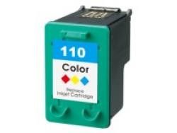 HP 110 TRICOLOR REMANUFACTURADO COMPATIBLE