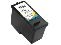 LEXMARK 43XL/41 TRICOLOR REMANUFACTURADO COMPATIBLE