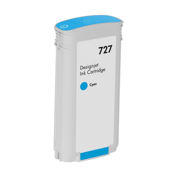 HP 727 CYAN REMANUFACTURADO COMPATIBLE