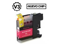 BROTHER LC121XL /LC123XL MAGENTA REMANUFACTURADO COMPATIBLE