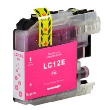 BROTHER LC12E MAGENTA REMANUFACTURADO COMPATIBLE
