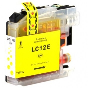 BROTHER LC12E AMARILLO REMANUFACTURADO COMPATIBLE