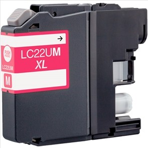 BROTHER LC22U MAGENTA REMANUFACTURADO COMPATIBLE