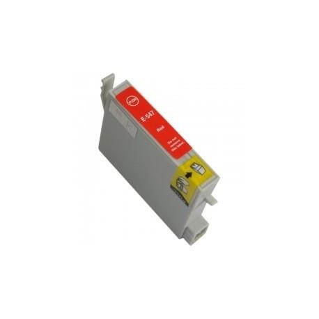 EPSON T0547 ROJO REMANUFACTURADO COMPATIBLE